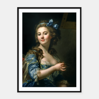 Thumbnail image of Marie Gabrielle Capet Self Portrait Framed poster, Live Heroes
