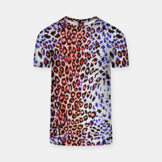 Miniaturka Leopard abstract Camiseta, Live Heroes