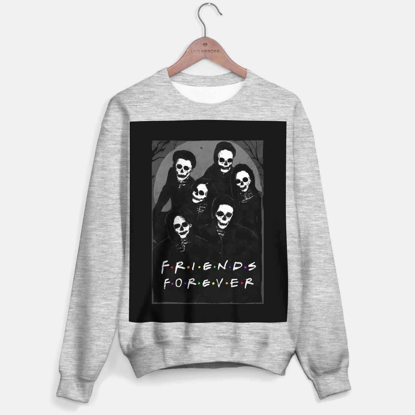 Image of Friends Forever Sweater regular - Live Heroes