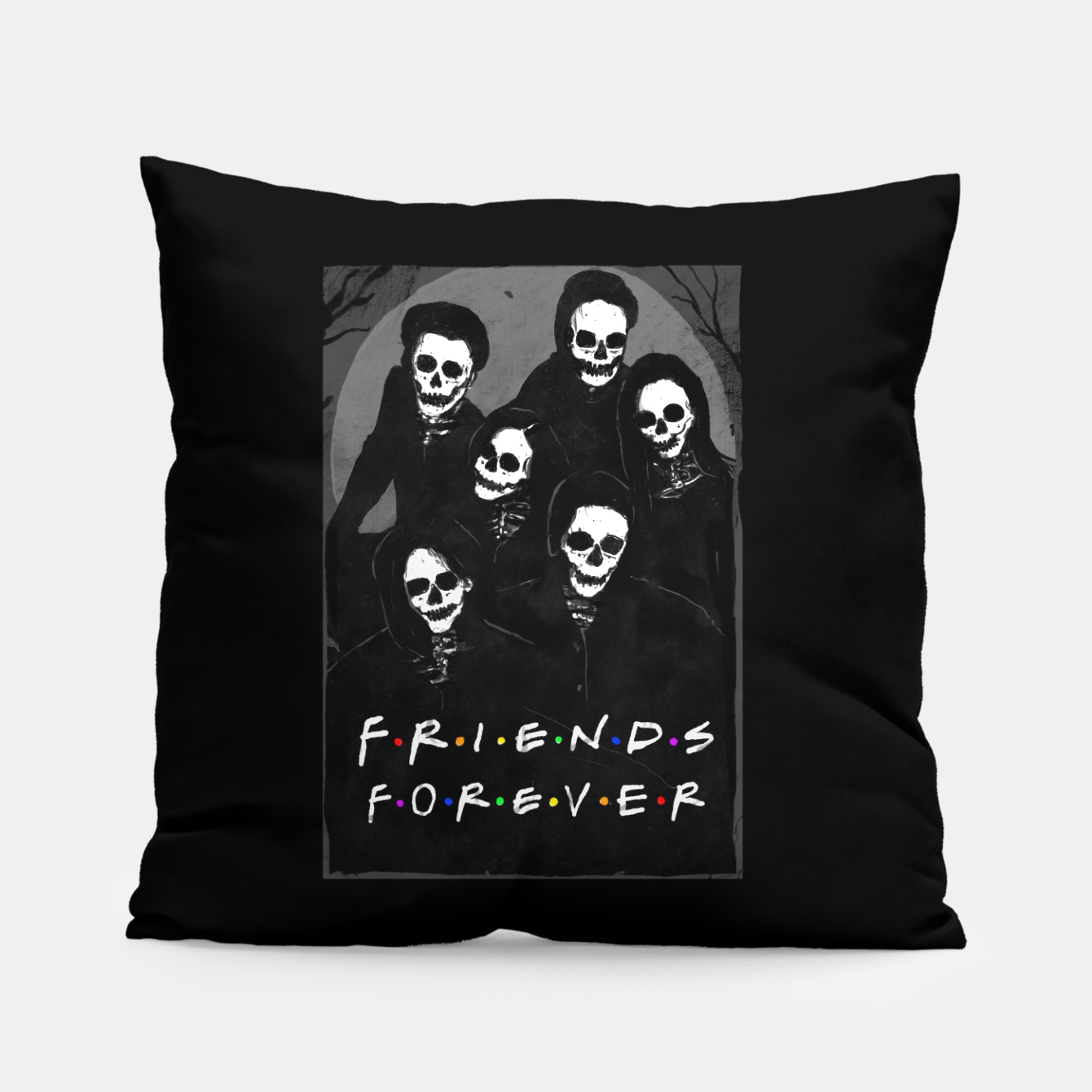 Image of Friends Forever Pillow - Live Heroes