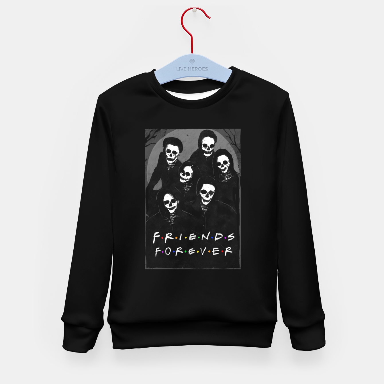 Image of Friends Forever Kid's sweater - Live Heroes