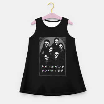Thumbnail image of Friends Forever Girl's summer dress, Live Heroes