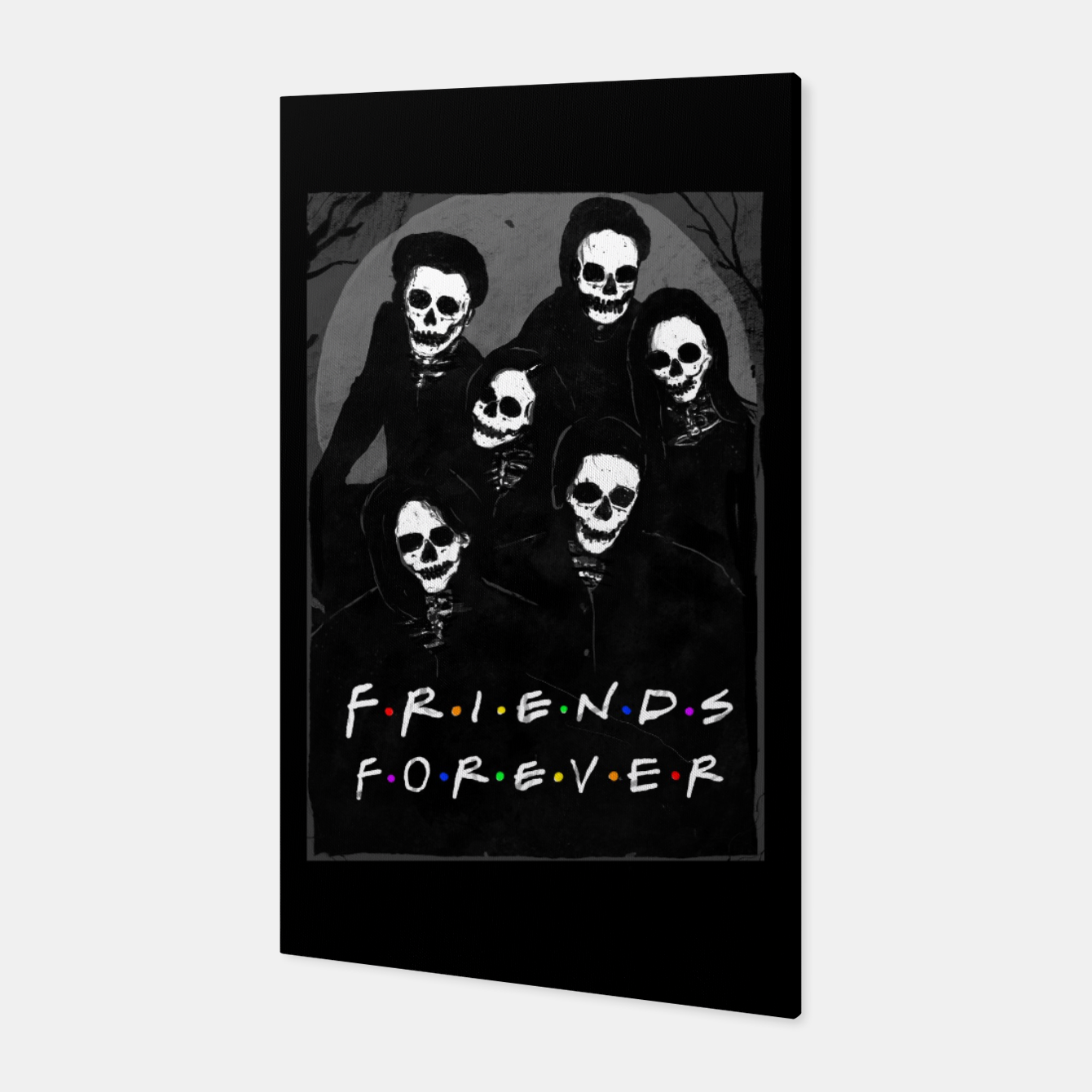 Image of Friends Forever Canvas - Live Heroes