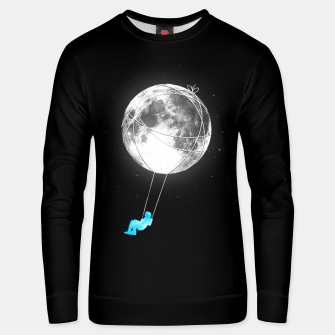 Thumbnail image of Moon Swing Unisex sweater, Live Heroes