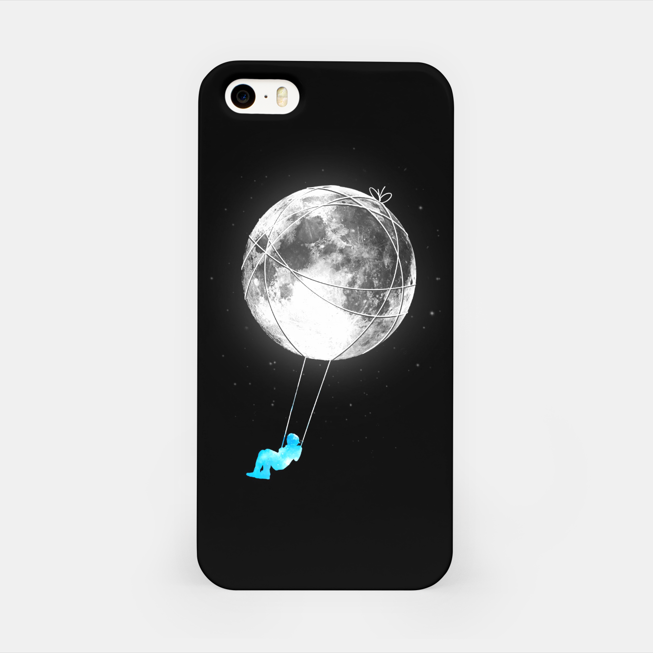 Image of Moon Swing iPhone Case - Live Heroes