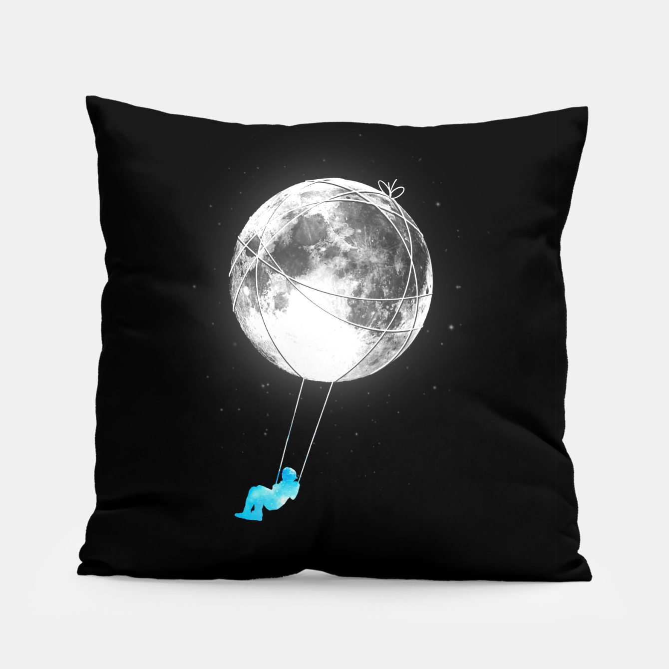 Image of Moon Swing Pillow - Live Heroes