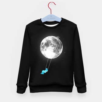 Thumbnail image of Moon Swing Kid's sweater, Live Heroes
