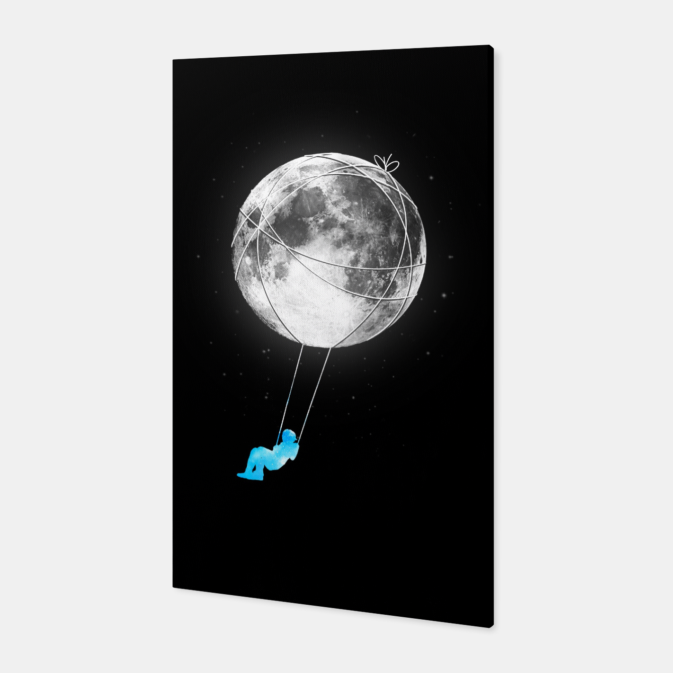 Image of Moon Swing Canvas - Live Heroes