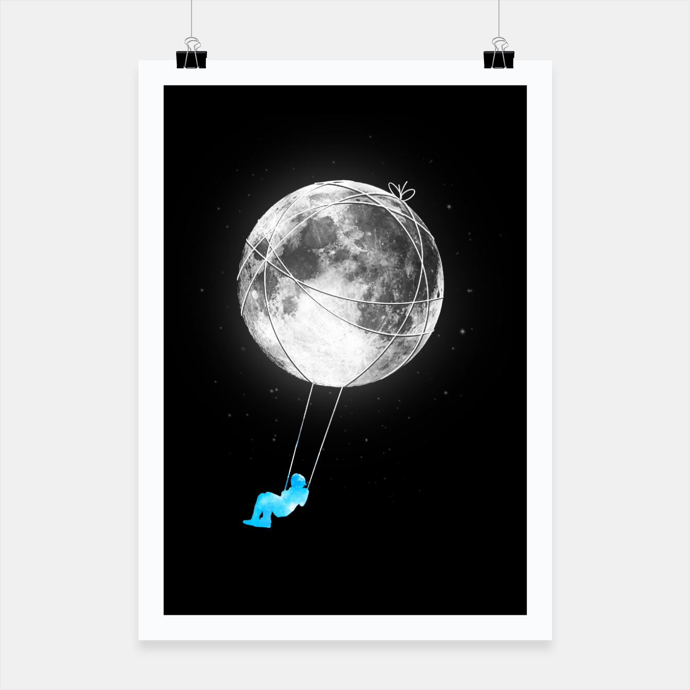 Image of Moon Swing Poster - Live Heroes