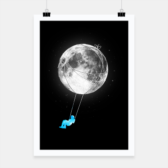 Thumbnail image of Moon Swing Poster, Live Heroes