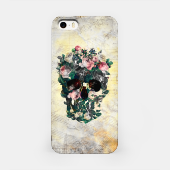Rose Garden Skull iPhone Case Bild der Miniatur