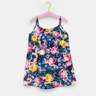 Miniatur Rose Garden Girl's dress, Live Heroes