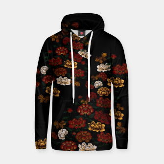 Thumbnail image of Peony and Butterfly emblem Hoodie, Live Heroes