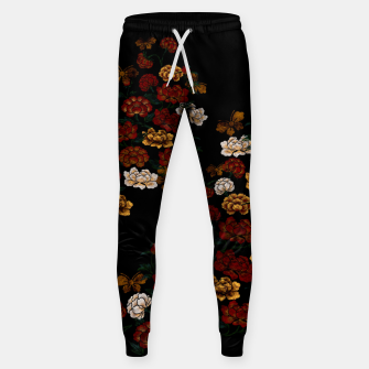 Thumbnail image of Peony and Butterfly emblem Sweatpants, Live Heroes