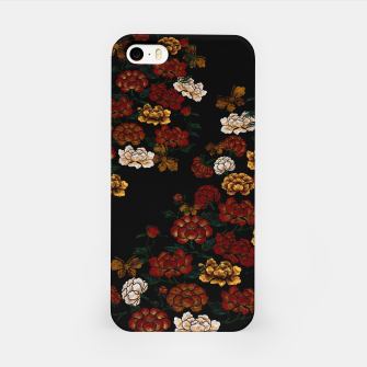 Thumbnail image of Peony and Butterfly emblem iPhone Case, Live Heroes