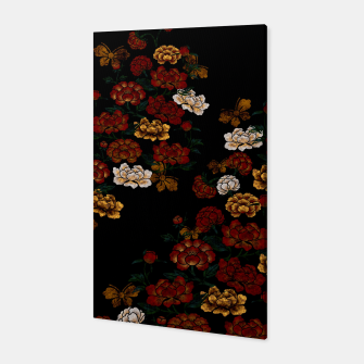 Thumbnail image of Peony and Butterfly emblem Canvas, Live Heroes