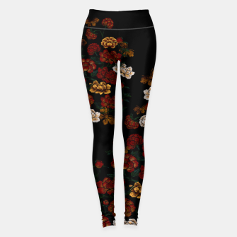 Thumbnail image of Peony and Butterfly emblem Leggings, Live Heroes
