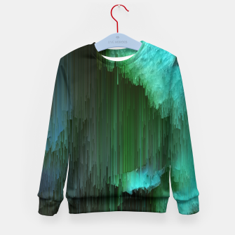 Thumbnail image of Aurora Borealis Kid's sweater, Live Heroes