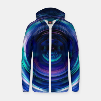 Thumbnail image of Introspection Zip up hoodie, Live Heroes