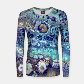 Thumbnail image of Blue dots Women sweater, Live Heroes