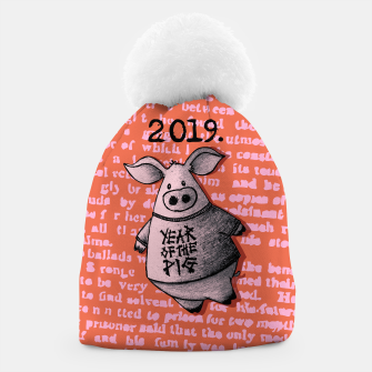 Thumbnail image of Year of thr Pig Beanie, Live Heroes