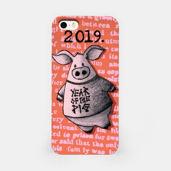 Thumbnail image of Year of thr Pig iPhone Case, Live Heroes