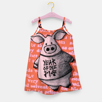 Thumbnail image of Year of thr Pig Girl's dress, Live Heroes