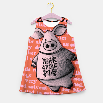Thumbnail image of Year of thr Pig Girl's summer dress, Live Heroes