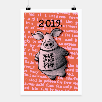 Thumbnail image of Year of thr Pig Poster, Live Heroes