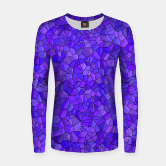 Thumbnail image of Sapphires and Amethysts Women sweater, Live Heroes