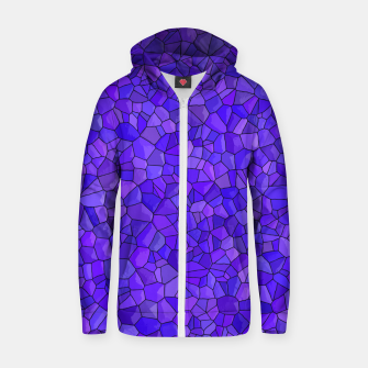 Thumbnail image of Sapphires and Amethysts Zip up hoodie, Live Heroes