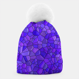 Thumbnail image of Sapphires and Amethysts Beanie, Live Heroes