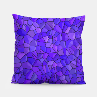 Thumbnail image of Sapphires and Amethysts Pillow, Live Heroes