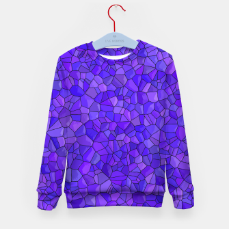 Thumbnail image of Sapphires and Amethysts Kid's sweater, Live Heroes