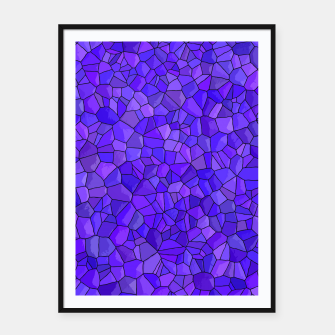 Thumbnail image of Sapphires and Amethysts Framed poster, Live Heroes