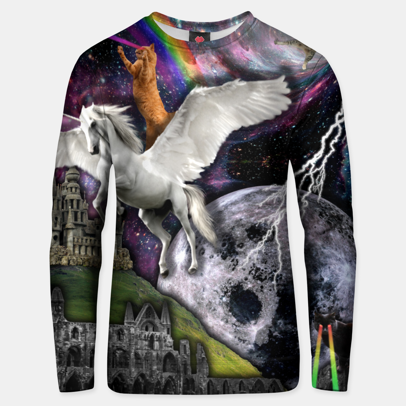 Image of THE LAST UNICORN Sudadera unisex - Live Heroes