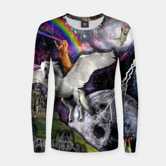 Thumbnail image of THE LAST UNICORN Sudadera para mujeres, Live Heroes