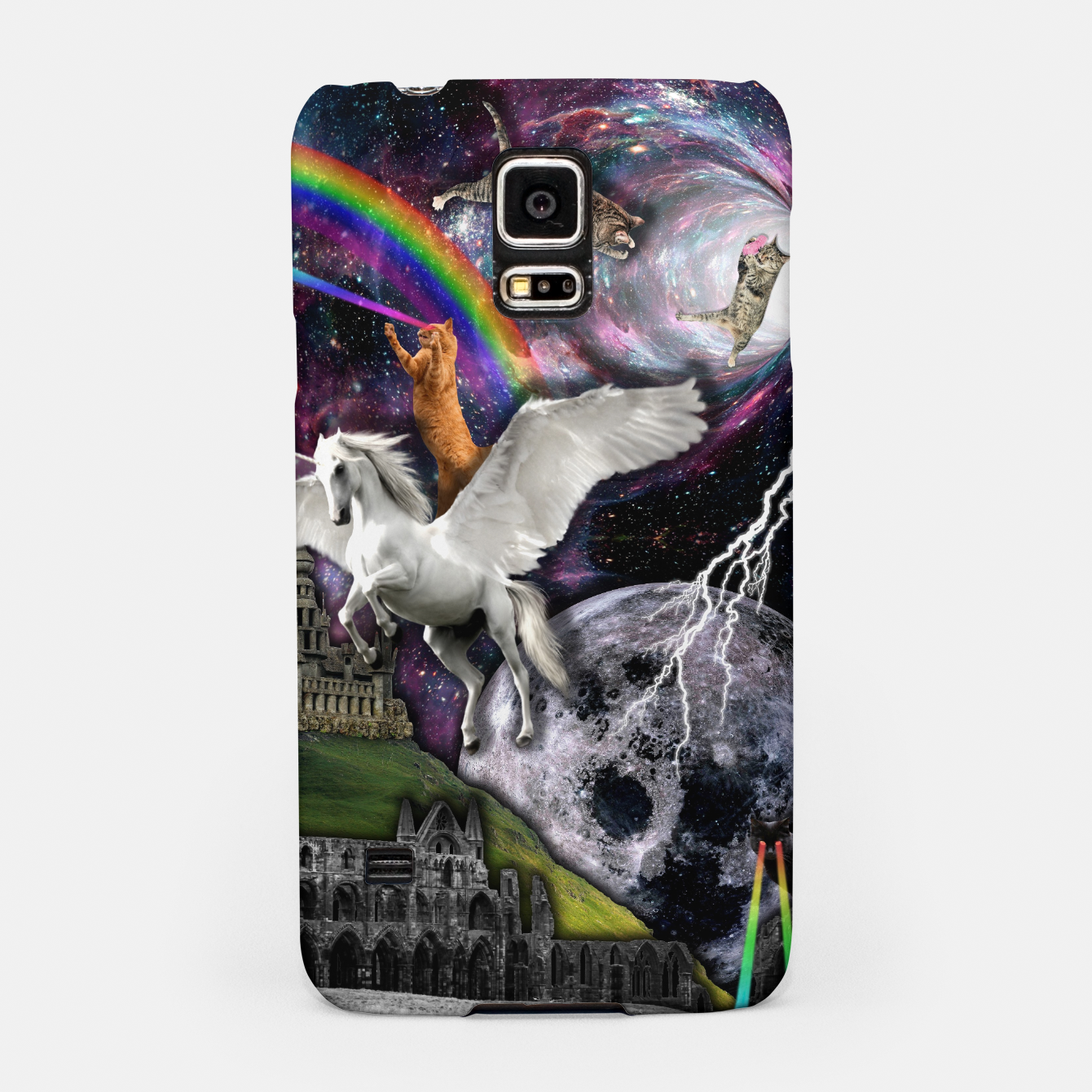 Image of THE LAST UNICORN Carcasa por Samsung - Live Heroes