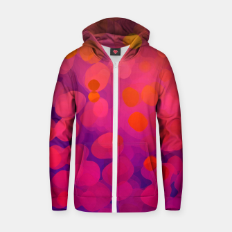 Thumbnail image of Mulberry Microcosm Zip up hoodie, Live Heroes