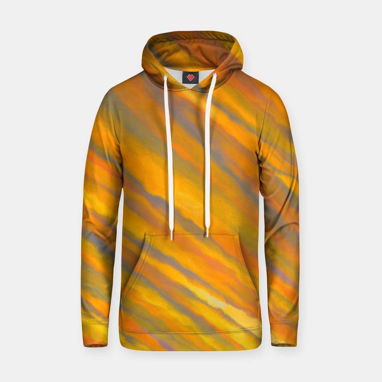Image of Canary Yellow Hoodie - Live Heroes