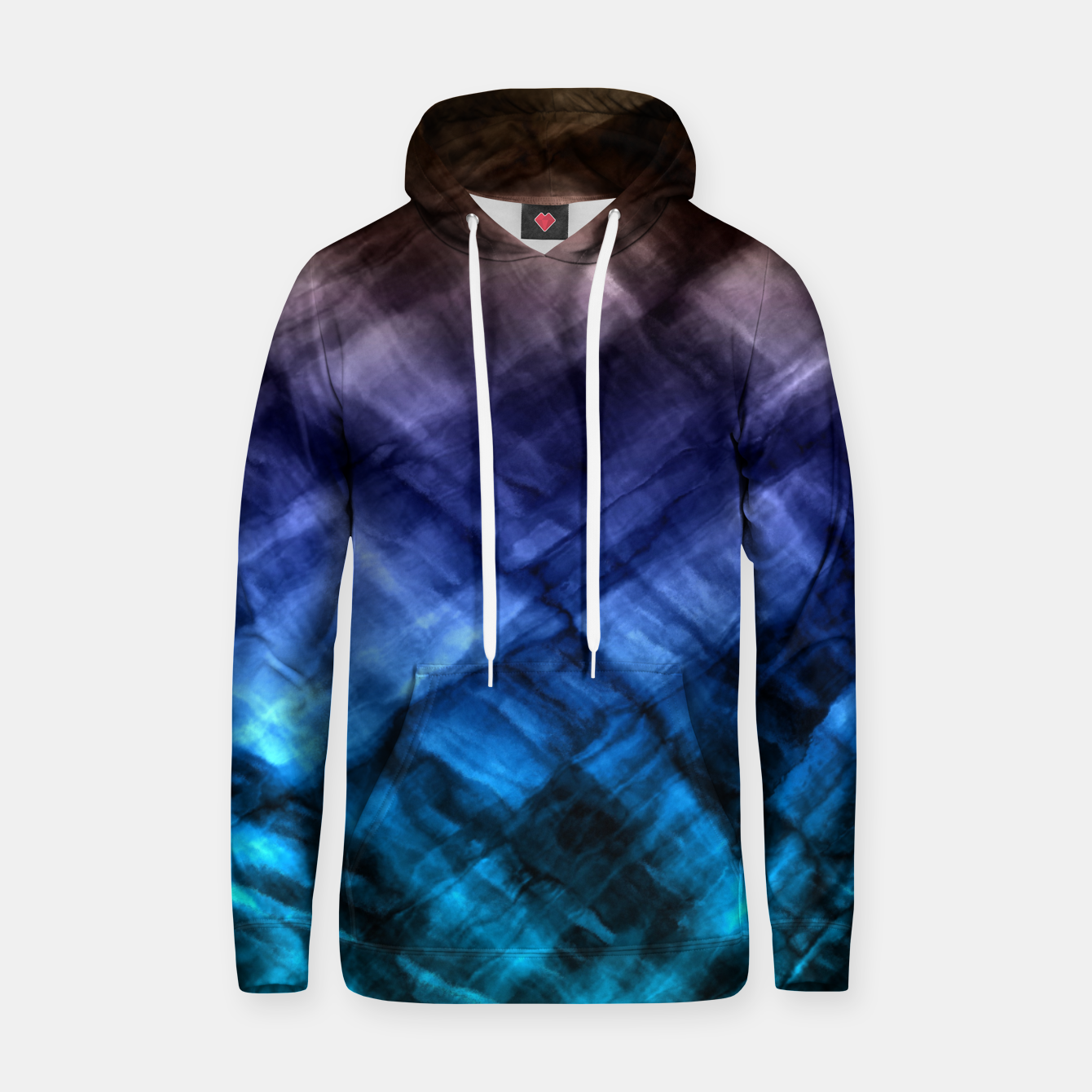 Image of Rock Pool in Blue and Gold Hoodie - Live Heroes