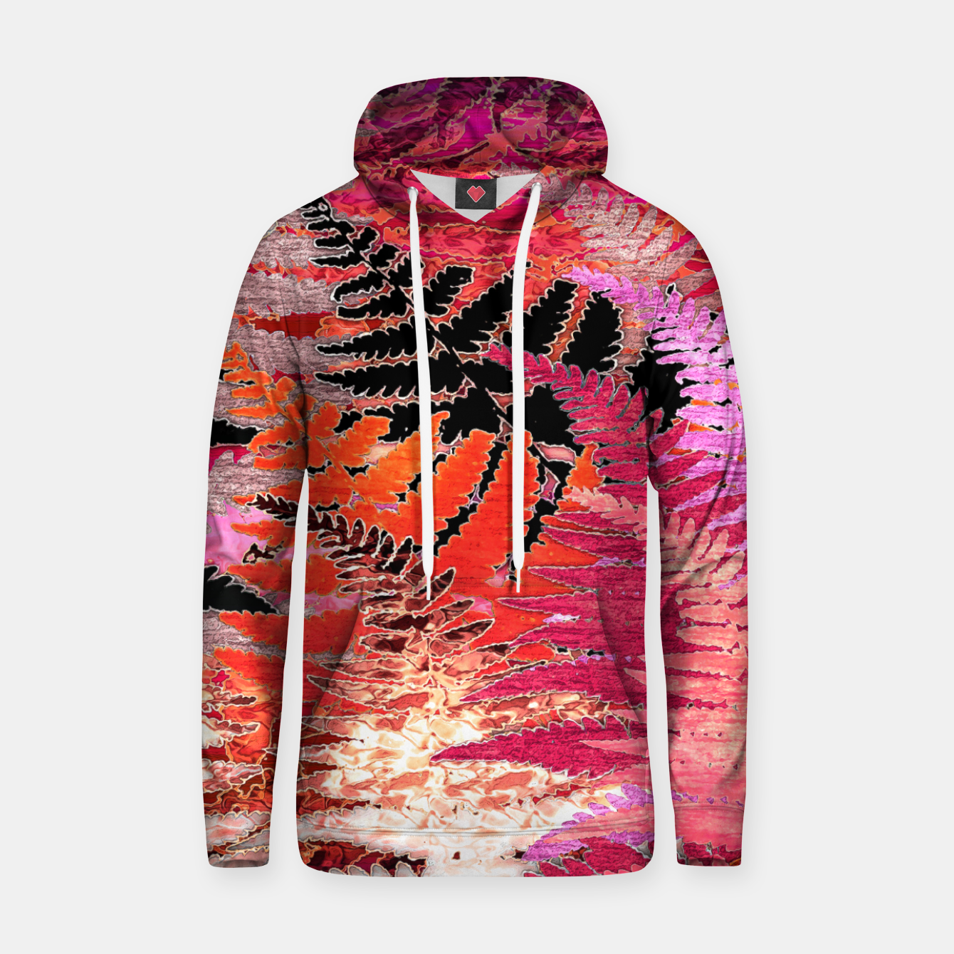 Image of Ferns, Morning Blush Hoodie - Live Heroes
