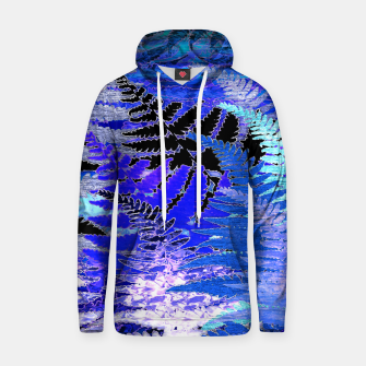 Thumbnail image of Ferns, Moonlight Blue Hoodie, Live Heroes