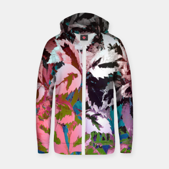 Thumbnail image of More Lovely Leaves Zip up hoodie, Live Heroes