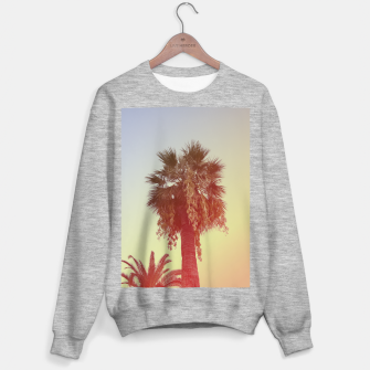 Miniatur Palm trees Sweater regular, Live Heroes