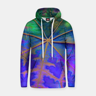 Thumbnail image of Leaf Incredible, Turquoise Hoodie, Live Heroes