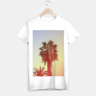 Miniatur Palm trees T-shirt regular, Live Heroes
