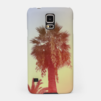 Miniatur Palm trees Samsung Case, Live Heroes