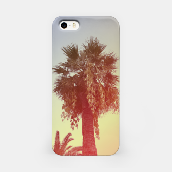 Miniatur Palm trees iPhone Case, Live Heroes