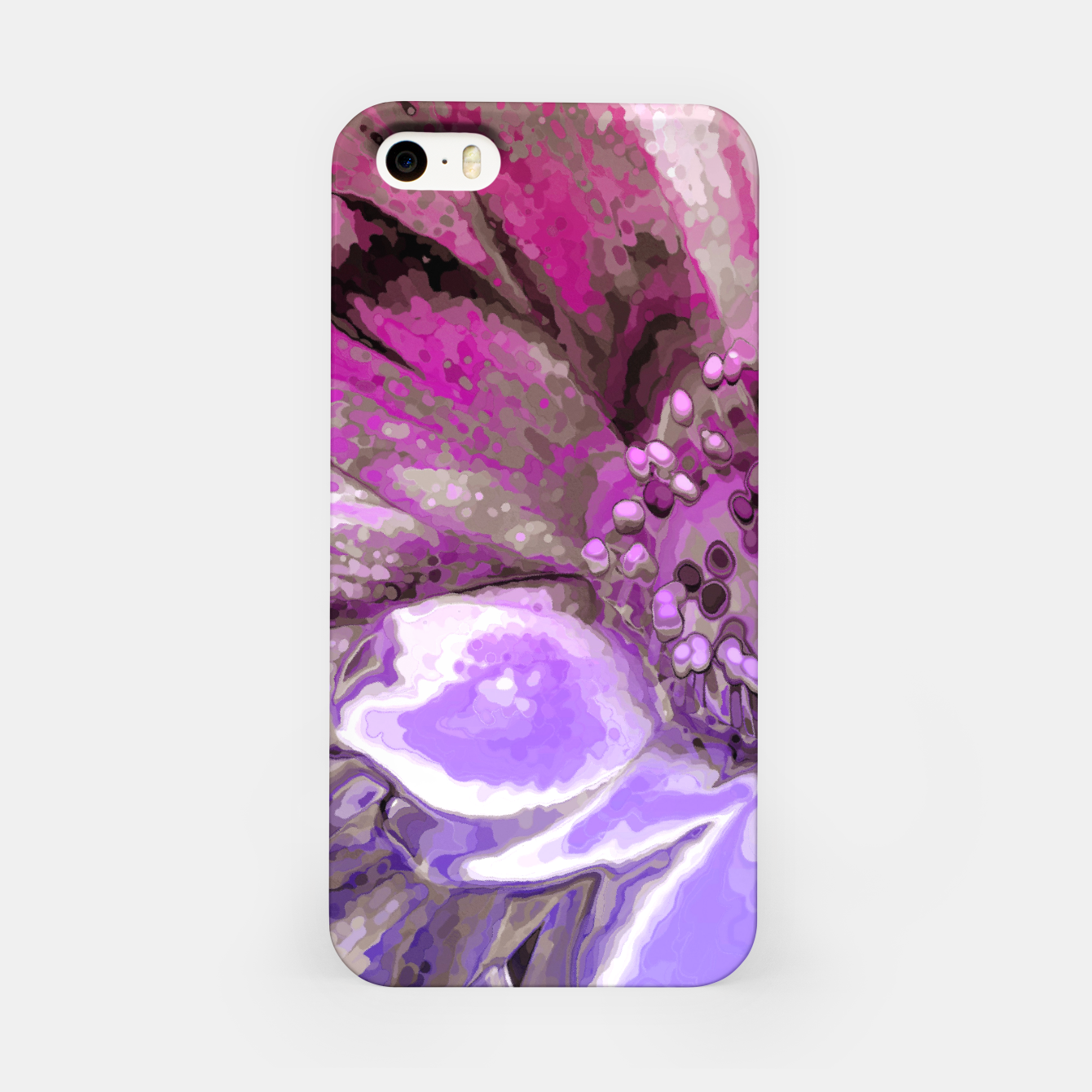 Image of In Sunlight, Petunia Reflections iPhone Case - Live Heroes